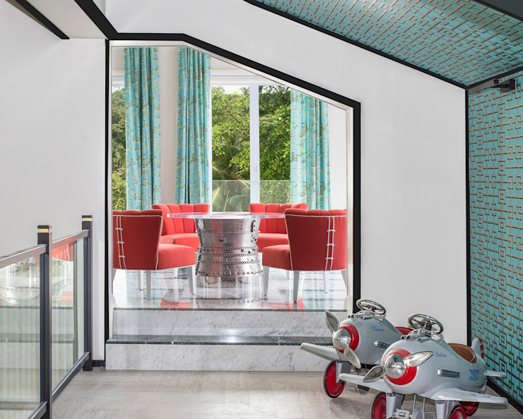 Chinoiseire Playroom by Design Intervention Asian style nursery/kids room by Design Intervention Asian