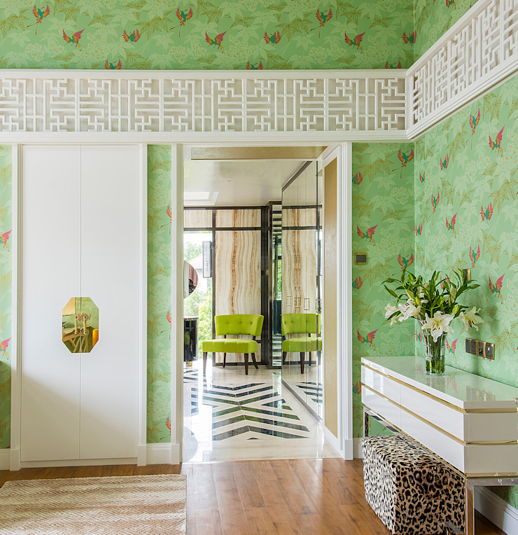 Chinoiserie Home by Design Intervention Asian style bedroom by Design Intervention Asian