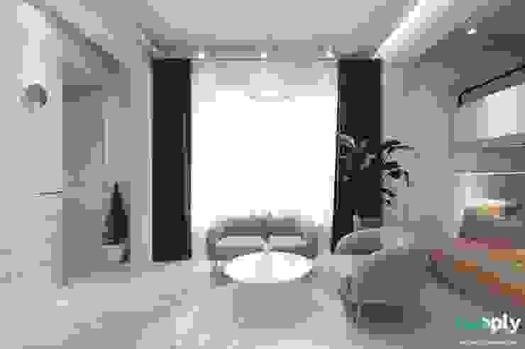 가족을 위한 공간 - 팔레트 (전주 광주 대전 대구 인테리어) 모던스타일 거실 by 디자인투플라이 모던