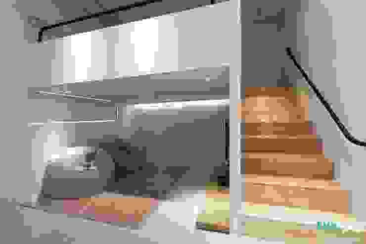 가족을 위한 공간 - 팔레트 (전주 광주 대전 대구 인테리어) by 디자인투플라이 모던