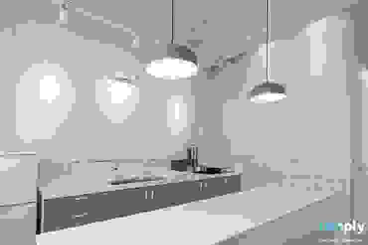 가족을 위한 공간 - 팔레트 (전주 광주 대전 대구 인테리어) 모던스타일 주방 by 디자인투플라이 모던
