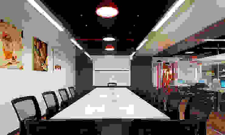 thiết kế văn phòng hiện đại RICH office sang trọng & độc đáo tại HCM Phòng học/văn phòng phong cách hiện đại bởi công ty thiết kế văn phòng hiện đại CEEB Hiện đại
