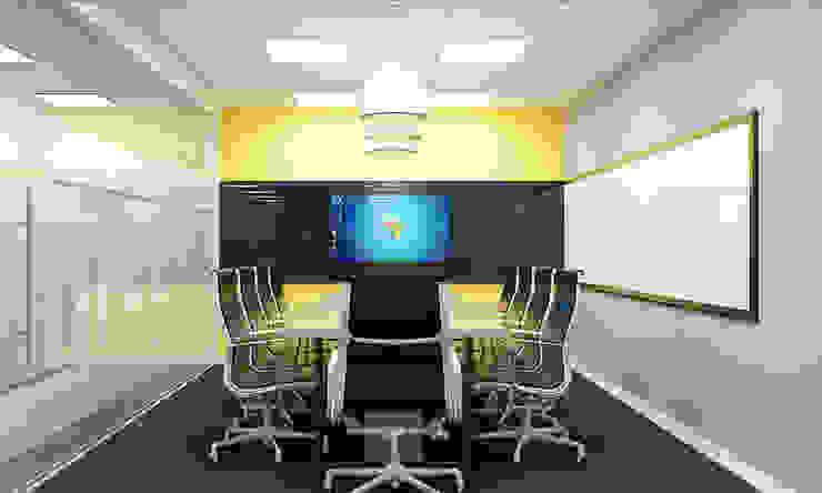 thiết kế nội thất phòng họp SEN office hiện đại & độc đáo tại gò vấp tp HCM Phòng học/văn phòng phong cách hiện đại bởi công ty thiết kế văn phòng hiện đại CEEB Hiện đại