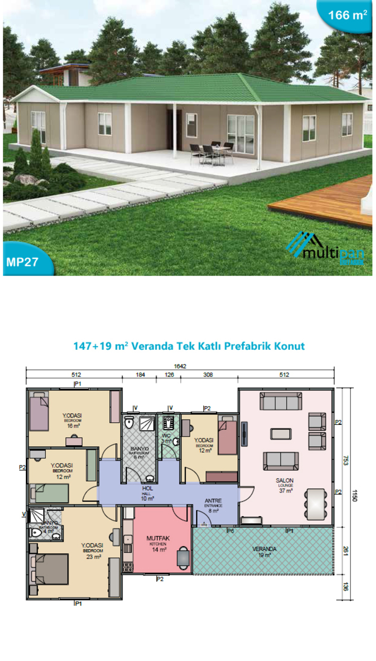 MP27 Multipan Prefabrik Endüstri Kırsal/Country