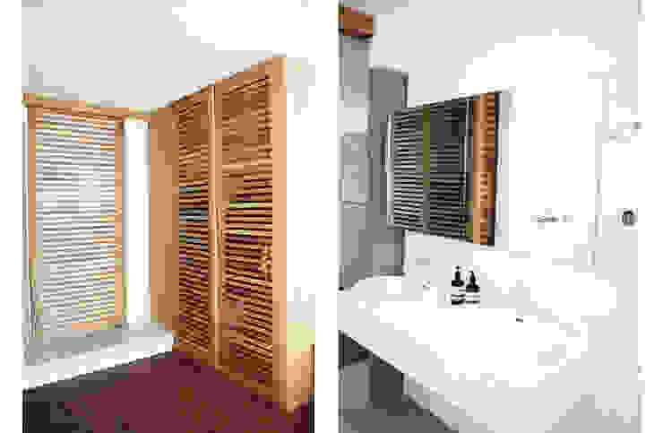 Main Bathroom & Bedroom Minimalist dressing room by Metaphor Design Minimalist