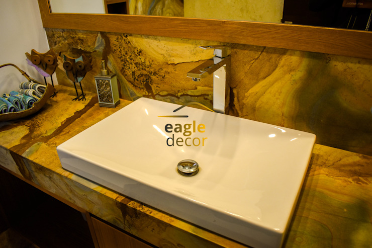 residential Modern bathroom by Eagle Decor Modern Marble