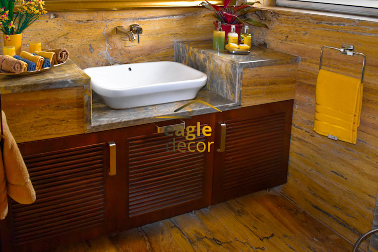 residential Modern bathroom by Eagle Decor Modern Marble