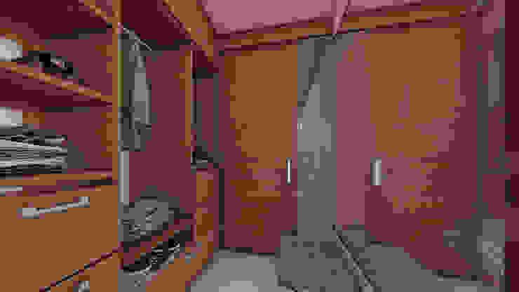 VESTIER Baños de estilo moderno de Constructora Cosenza Moderno Madera Acabado en madera