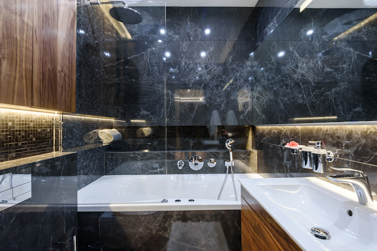 УММ5 Modern style bathrooms