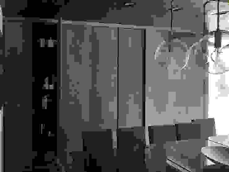 Brenno il mobile Sala da pranzo minimalista Legno Nero