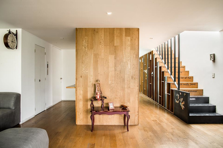 Brenno il mobile Living room Wood Multicolored