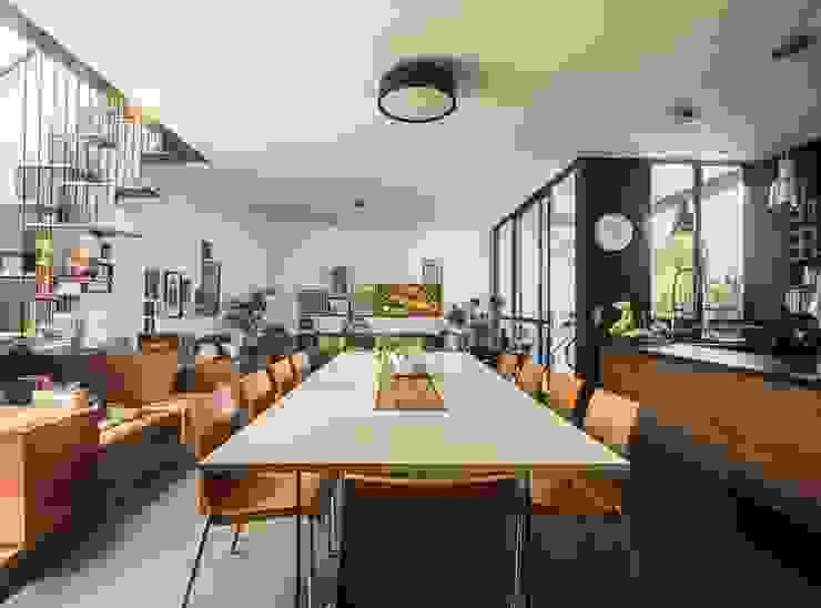 Brenno il mobile Sala da pranzo minimalista Legno Variopinto