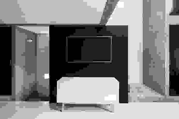 Brenno il mobile Ruang Keluarga Minimalis Kayu White