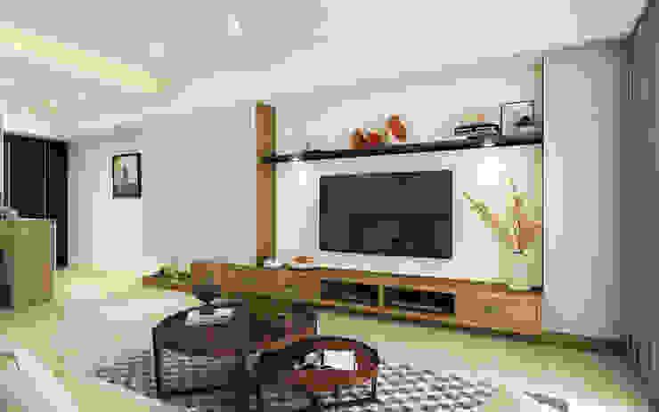 系統電視櫃 根據 木博士團隊/動念室內設計制作 鄉村風