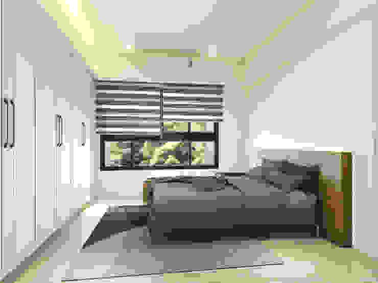 主臥 系統床背板 根據 木博士團隊/動念室內設計制作 鄉村風