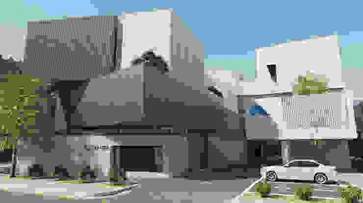 유림싸이겐 사옥 신축 계획안 모던스타일 주방 by 삼공사건축사사무소 모던 벽돌