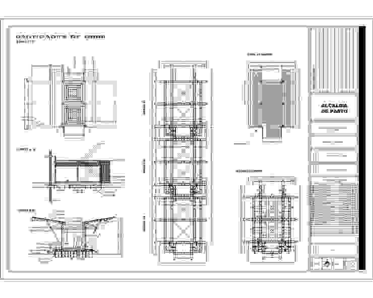 Muelle Modular flotante La Cocha - Año 2010 de EHG arquitectura y construcción