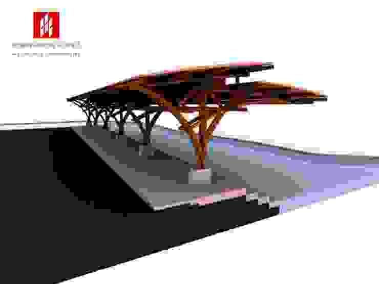 Muelles La Cocha renovación segundo embarcadero Vereda el Puerto - Año 2010 de EHG arquitectura y construcción