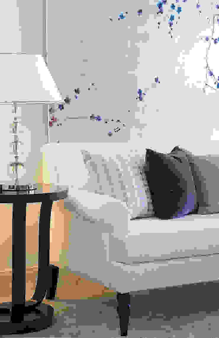 Bespoke Furniture by Design Intervention Asian style living room by Design Intervention Asian