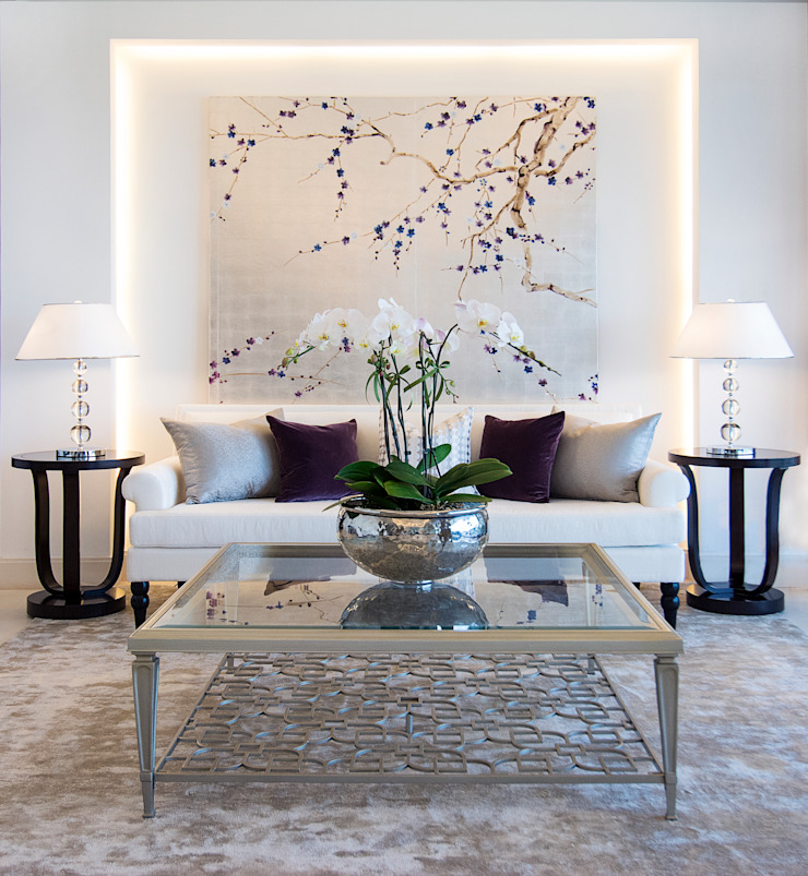 Living Room by Design Intervention Asian style living room by Design Intervention Asian