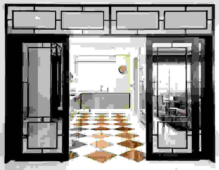 Modern Colonial Kitchen by Design Intervention Asian style kitchen by Design Intervention Asian