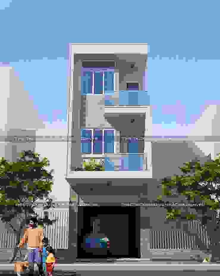 Những mẫu nhà ống 3 tầng đẹp phù hợp với mọi gia đình bởi Thiết kế nhà đẹp ở Hồ Chí Minh