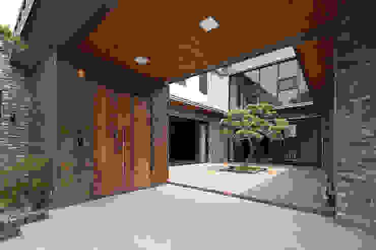 삼마당 집 모던스타일 정원 by 명작건축사사무소 모던