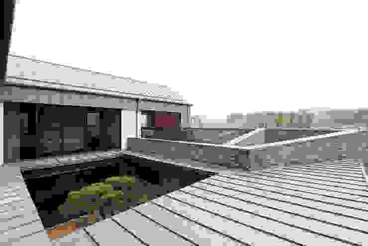 삼마당 집 모던스타일 주택 by 명작건축사사무소 모던