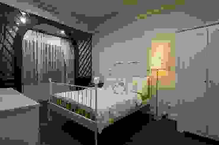 臥室 根據 敘述室內裝修設計有限公司 鄉村風