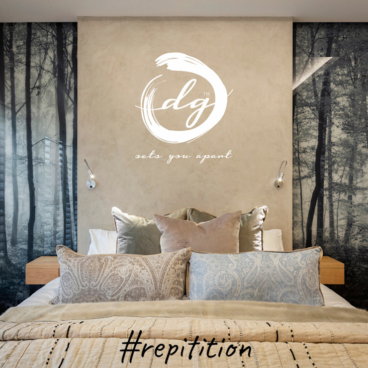 Repitition Deborah Garth Interior Design International (Pty)Ltd Minimalist bedroom