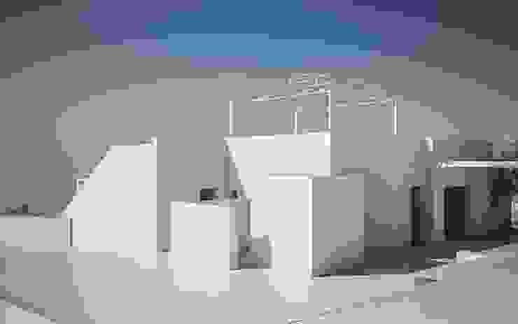 architetto stefano ghiretti Casas modernas Blanco