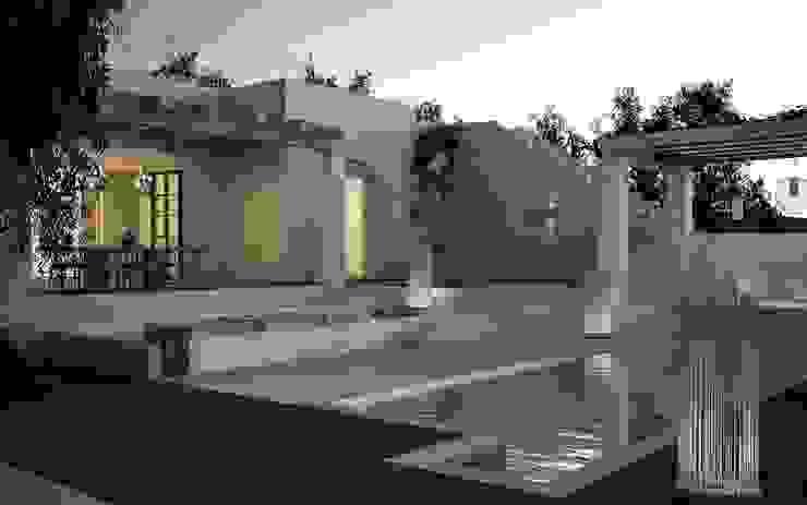 architetto stefano ghiretti Rumah Modern White