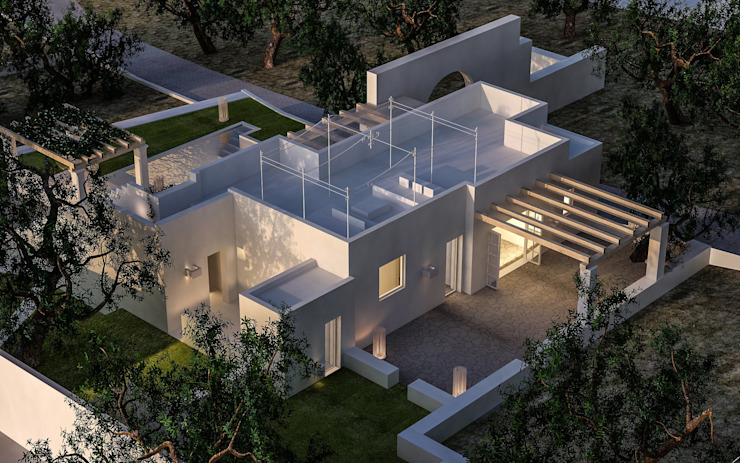 architetto stefano ghiretti Casas modernas