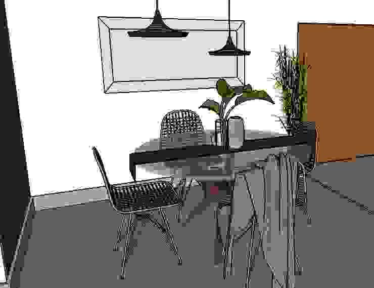 comedor y accesorio de Cubicointerior Moderno Aluminio/Cinc