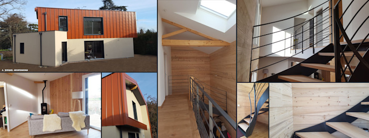 Empreinte Constructions bois บ้านไม้