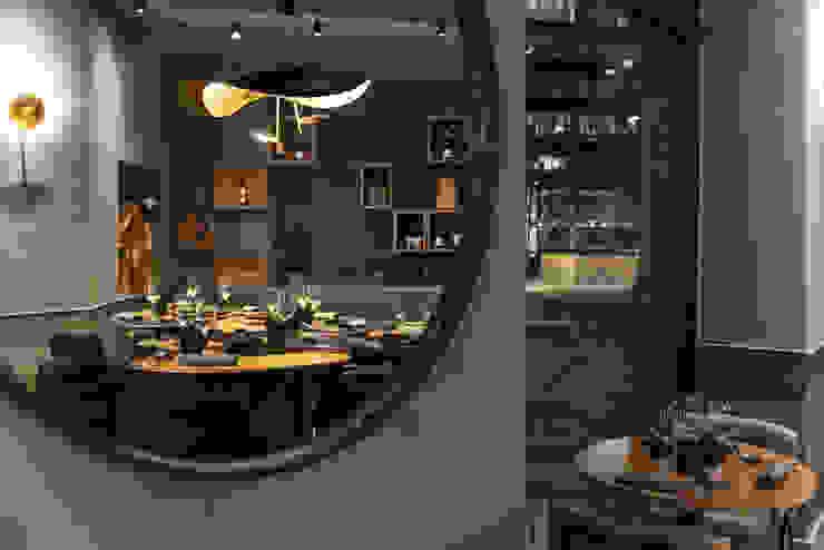 Ristorante SOLO CRUDO Gastronomia in stile moderno di Grippo + Murzi Architetti Moderno