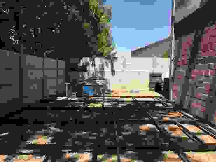 Entramado deck de madera de Tallo Taller Industrial