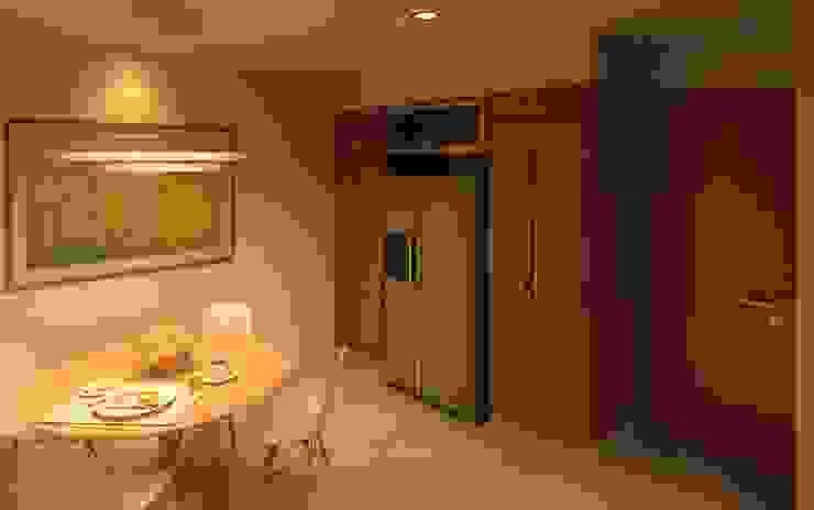 Cocina de Arq Eduardo Galan, Arquitectura y paisajismo Moderno