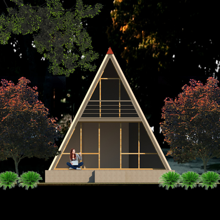 Prefabrik ev 3 PRATIKIZ MIMARLIK/ ARCHITECTURE Modern