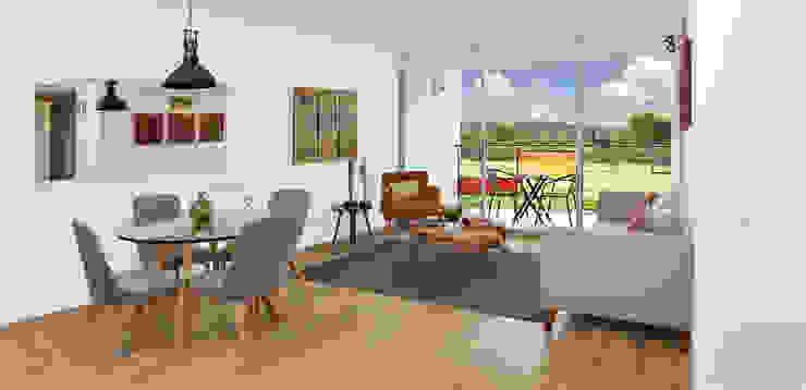 apartamento modelo de Fotografía Oscar Martínez Celis Clásico