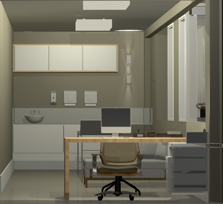 M2T1 Modern style study/office