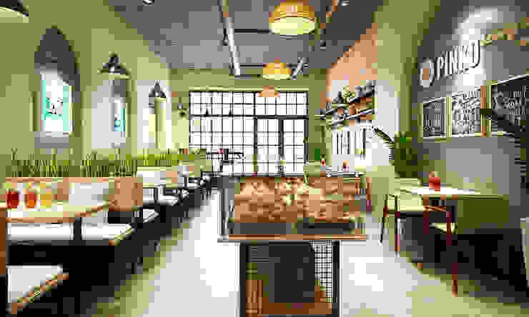 nội thất tiệm bánh: hiện đại  by công ty thiết kế nhà hàng & quán cafe Hiện đại CEEB, Hiện đại