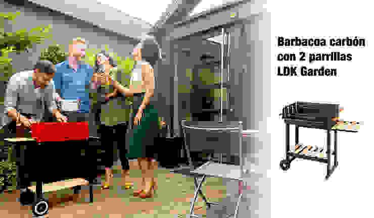 ferrOkey - Cadena online de Ferretería y Bricolaje Garden Fire pits & barbecues Wood Black