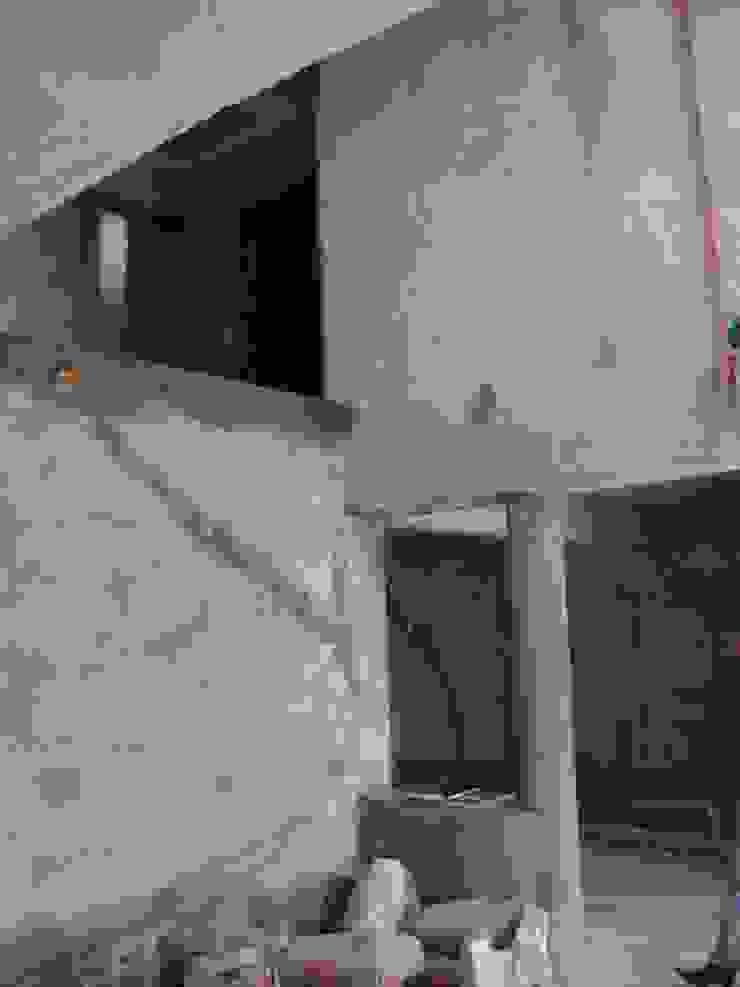 ミニマルデザインの リビング の Fabiana Ordoqui Arquitectura y Diseño. Rosario | Funes |Roldán ミニマル コンクリート