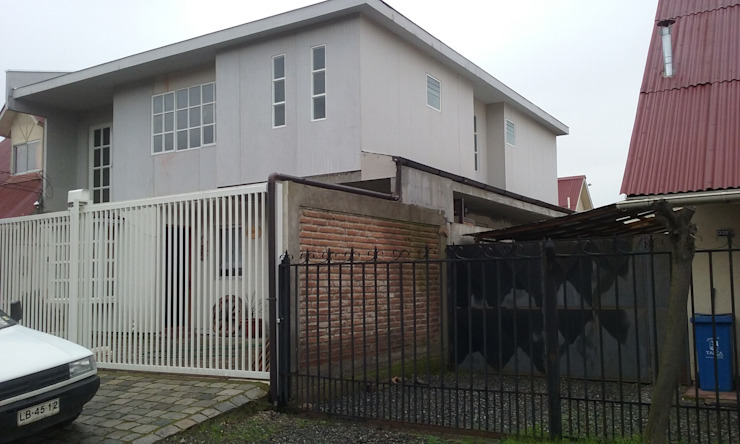 Construcción 2° piso en Metalcon Casas estilo moderno: ideas, arquitectura e imágenes de ECONproyectos Moderno