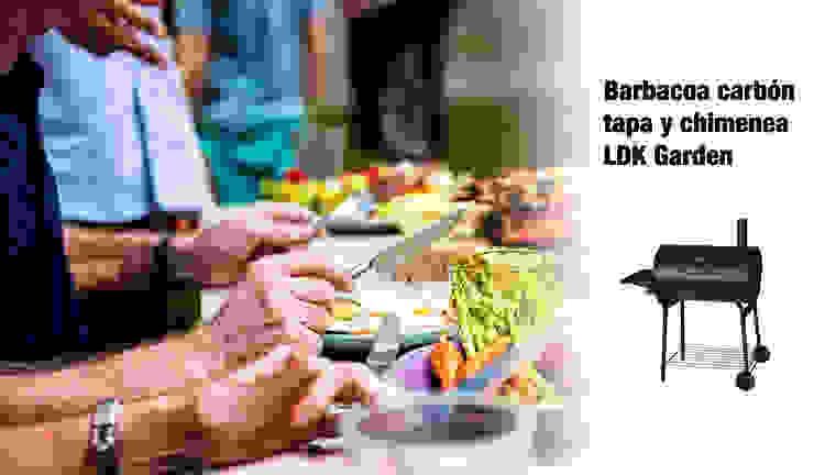ferrOkey - Cadena online de Ferretería y Bricolaje Garden Fire pits & barbecues Iron/Steel Black