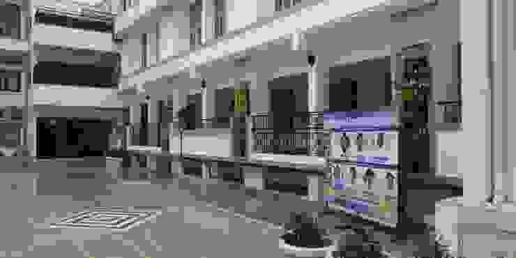 Vertical Garden by Lifewall in Bluebells school(Gurgaon) Modern schools by Vertical Gardens, Lifewall Modern