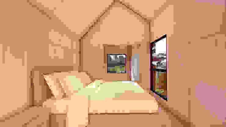 Kamar Tidur by Franthesco Spautz Arquitetura