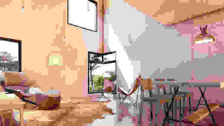 Ruang Keluarga by Franthesco Spautz Arquitetura