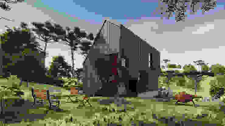 Rumah kayu by Franthesco Spautz Arquitetura